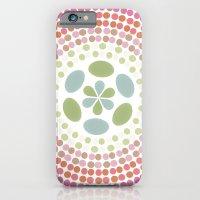 Retro Floral Circle 1 iPhone 6 Slim Case