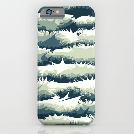 Explosions in the water iPhone & iPod Case