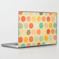 Vintage Dot Laptop & iPad Skin
