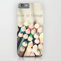 iPhone & iPod Case featuring Color it Vintage by QianaNicole PhotoARTography
