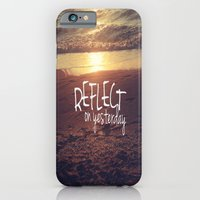 iPhone & iPod Case featuring reflect on yesterday by manduhpaige