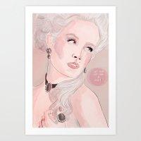 Marie Antoinette (Let Th… Art Print