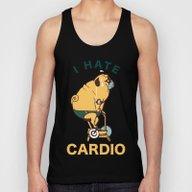 I Hate Cardio Unisex Tank Top