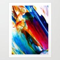 criticality Art Print