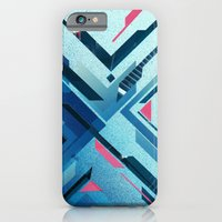 iPhone & iPod Case featuring Geometric - Collage Love by ErDavid