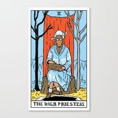 II-The High Priestess Canvas Print