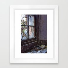 The Shoe Framed Art Print
