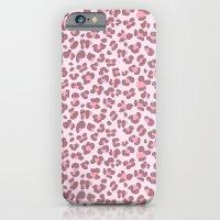 Baby pink Leopard iPhone 6 Slim Case