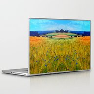 Fields Of Summer With Fl… Laptop & iPad Skin