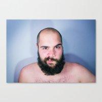 Bearded Canvas Print
