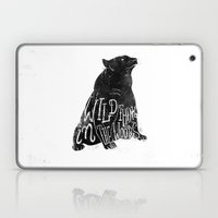 Wild Thing In The Woods Laptop & iPad Skin