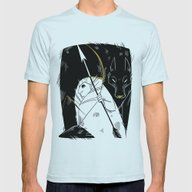 Cocoon Mens Fitted Tee Light Blue SMALL