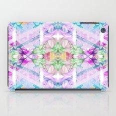 Wildflower kaleidoscope iPad Case