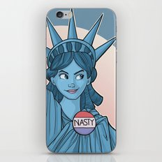 Nasty Lady Liberty iPhone & iPod Skin