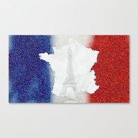 Viva La France!!! Canvas Print