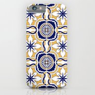 iPhone & iPod Case featuring Portuguese Tiles by BadOdds