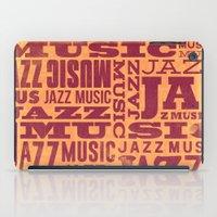 Jazz Poster iPad Case