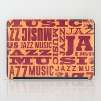 Jazz Poster iPad Case