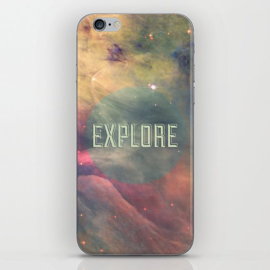 Explore III iPhone & iPod Skin
