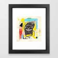 Happy Boy Framed Art Print