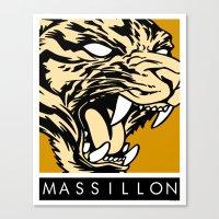 MASSILLON TIGER Canvas Print