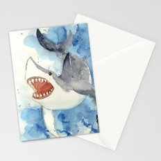 Great White Shark Stationery Cards