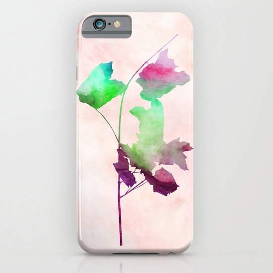 Maple_Watercolor2 by Jacqueline and Garima iPhone & iPod Case