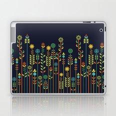 Overgrown flowers Laptop & iPad Skin