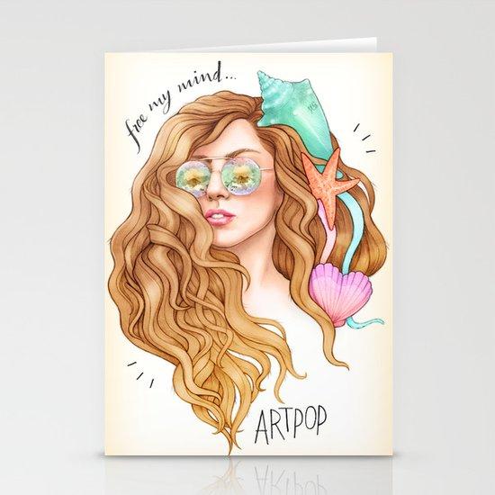 Free my mind, ARTPOP Stationery Card