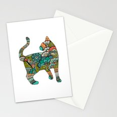 Vegetarian cat Stationery Cards