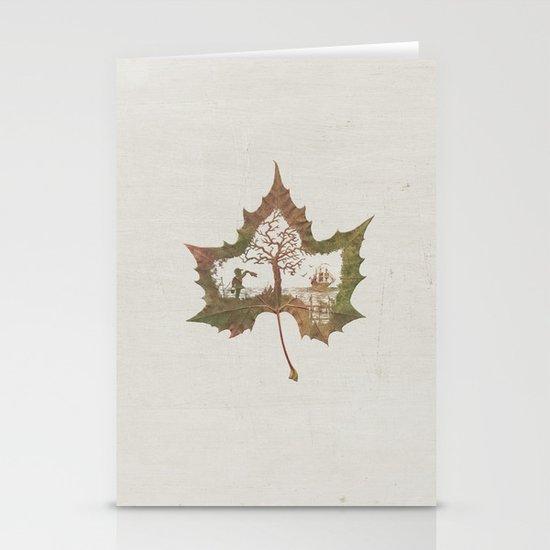 A Fall Story Stationery Card