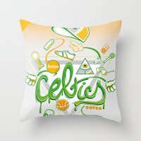 CELTICS Throw Pillow