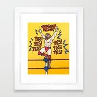Daniel Bryan (WWE) Framed Art Print