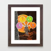 The Universal Four Habit… Framed Art Print