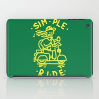 Simple Ride iPad Case