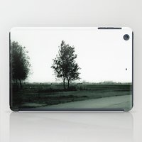 Blurry Trees iPad Case