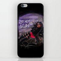 Bug Girls: Napping Spider iPhone & iPod Skin