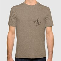 Aikido Series - 2 Mens Fitted Tee Tri-Coffee SMALL