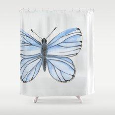 Spring Azure Shower Curtain