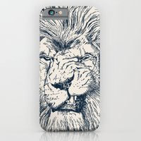 iPhone & iPod Case featuring Lion by Lara Trimming