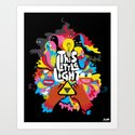 'This Little Light' Giclee Print Art Print