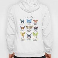 Exotic Moths Hoody