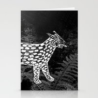 Forest Panther Stationery Cards