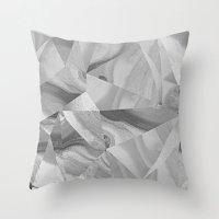 Irregular Marble II Throw Pillow
