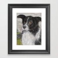 The Sheepdog Framed Art Print