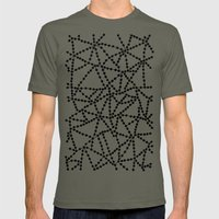 Dots Connect Mens Fitted Tee Lieutenant SMALL