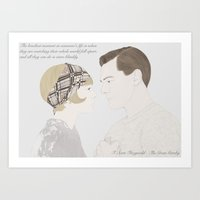 The Great Gatsby Art Print