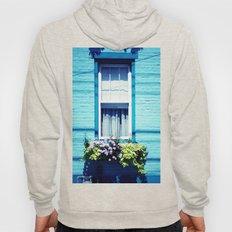 Blue Window Hoody