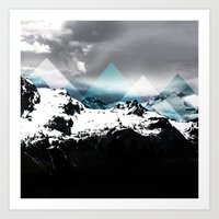 Mountains IV Art Print