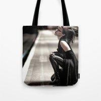 Gothic Ninja Tote Bag